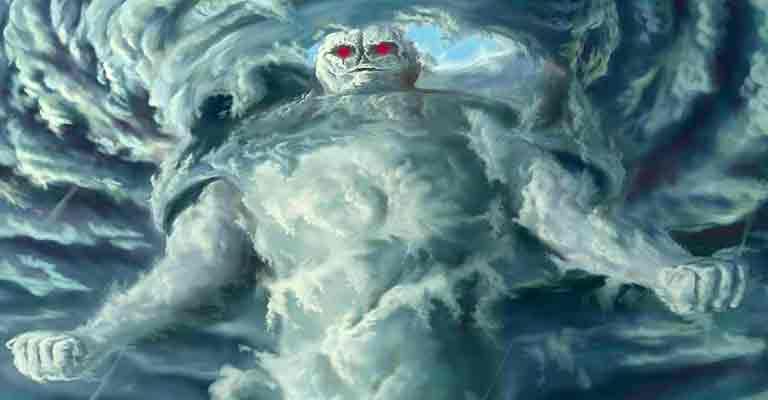 дух ветра демон стихи ветра Фагот