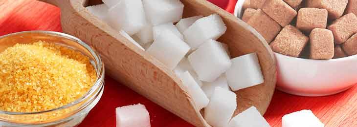 Приворот на сахар из тростника и белый сахар