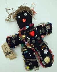 Кукла для заговора приворота Вуду