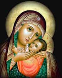Сильная молитва о детях Богородице