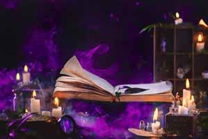 Обряд книга и свечи